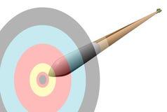 Flecha que apresura Fotografía de archivo