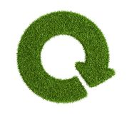 Flecha redonda de la hierba Fotos de archivo