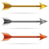 Flechas Imagenes de archivo