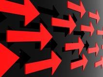 Flechas Foto de archivo libre de regalías