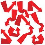 flechas ilustración del vector