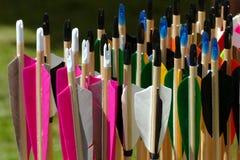 Flechas coloridas Fotografía de archivo libre de regalías