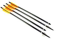 Flechas con diversas puntas Fotografía de archivo libre de regalías