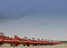 Flechas del rojo de la Royal Air Force Imagenes de archivo