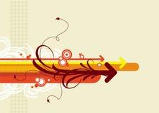 Flechas del vector Imagen de archivo libre de regalías