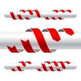 Flechas del vector Imágenes de archivo libres de regalías