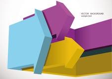 Flechas. Fondo abstracto Imagen de archivo libre de regalías