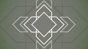 Flechas geométricas de pulsación del fondo abstracto ilustración del vector