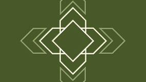 Flechas geométricas de pulsación del fondo abstracto libre illustration