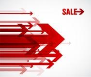 Flechas rojas de la venta. libre illustration
