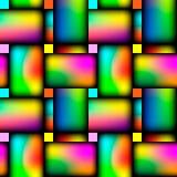 Flechtweide, die kreuzweise nahtloses klares Muster wiederholt Vektor vektor abbildung