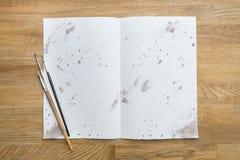 Flecken der Tinte Lizenzfreie Stockbilder
