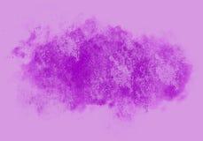 Fleckenwasser-Farbgrafik-Farbbürste streicht Flecken Lizenzfreie Stockbilder