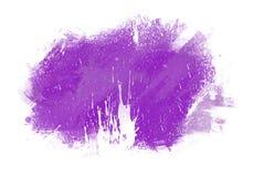 Fleckenwasser-Farbgrafik-Farbbürste streicht Flecken Stockfotografie