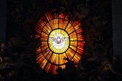 Fleckglas Stockbild