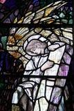 Fleckglasfenster Stockbild