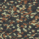 Flecktarn seamless camo pattern. Texture Stock Photos