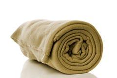 Fleece blanket Royalty Free Stock Photo