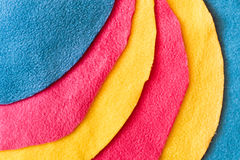 Fleece colours Royalty Free Stock Image
