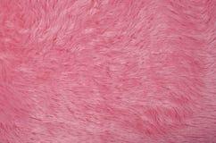 Fleece. Full frame take of furry pink fleece fabric Royalty Free Stock Photography