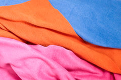 Fleece material Stock Images