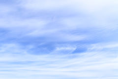 Fleecy clouds in the sky Royalty Free Stock Photos
