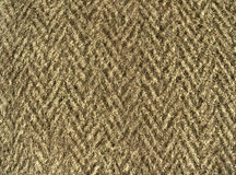 Fleecy fabric texture - thick brown woolen cloth Royalty Free Stock Image