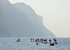 Fleet of Boats Royalty Free Stock Photo