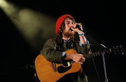 Fleet Foxes Singer Royalty Free Stock Photo