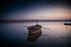 Fleet lagoon. In Dorset, England Stock Photo