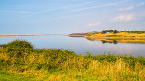 The Fleet Lagoon Dorset Royalty Free Stock Photography