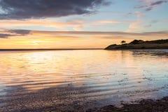 The Fleet Lagoon Dorset Stock Photo