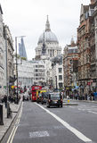Fleet Street London Royalty Free Stock Images