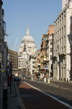 Fleet Street and St Paul's, London Royalty Free Stock Images
