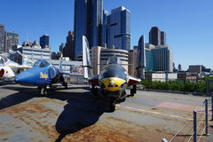 Fleet Week 2015 @ The Intrepid Museum Part 2 90 Royalty Free Stock Photo