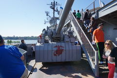 Fleet Week 2015 @ The Intrepid Museum Part 2 4 Stock Photography