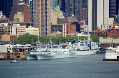 The Fleet Week New York 2008 Royalty Free Stock Photo