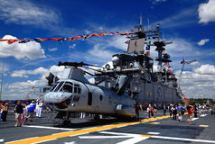 The Fleet Week New York 2008 Stock Photo