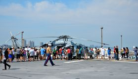 Fleet Week New York 2012 Royalty Free Stock Photography