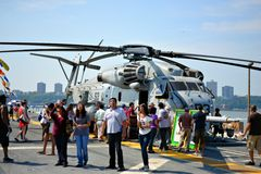 Fleet Week New York Royalty Free Stock Image