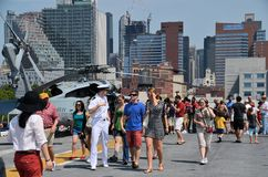 Fleet Week New York Stock Image