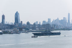 Fleet Week NYC 2016 -  USS BATAAN Royalty Free Stock Photos
