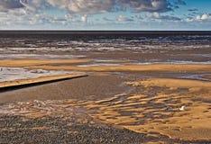 Fleet wood beach Stock Image