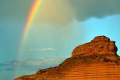 Fleeting Rainbow Royalty Free Stock Photo