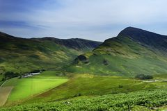 Fleetwith Pike Royalty Free Stock Photos