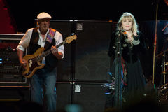 Fleetwood Mac In Concert - Sacramento, CA Photographie stock
