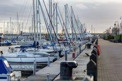Fleetwood marina Royaltyfri Foto