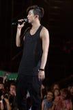 Flehen Sie Junge (Band 2PM) am Festival menschliche Kultur EquilibriumConcert Korea in Vietnam an stockfoto