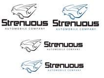 Fleißiges Automobile Company Stockfotos