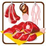 Fleisch stock abbildung